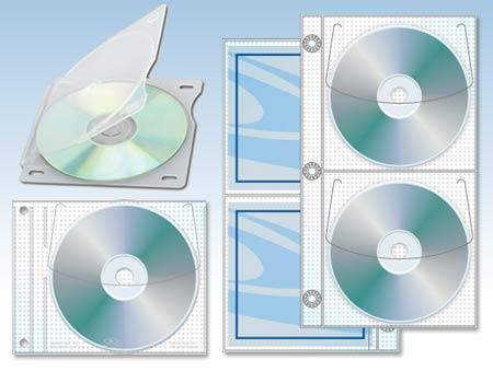 sc 1 st  CD Source Direct & 3 Ring CD-DVD Binder Sleeves