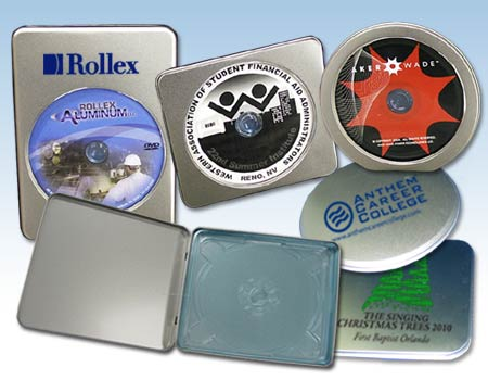 Cd Dvd Media Tin Cases